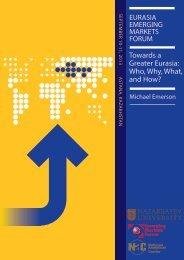 Towards a Greater Eurasia - Emerging Markets Forum