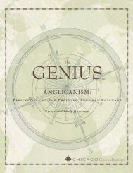 Genius of Anglicanism, The - Philosophy and Religion