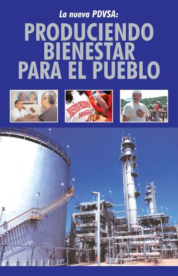 Folleto La Nueva PDVSA - MinCI