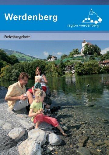 Freizeitangebote - Region Werdenberg