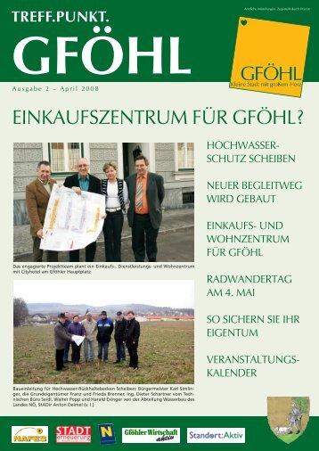 EinkAufszEntruM für Gföhl? -  Stadtgemeinde Gföhl