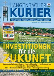 05. Ausgabe Juni - Langenbach