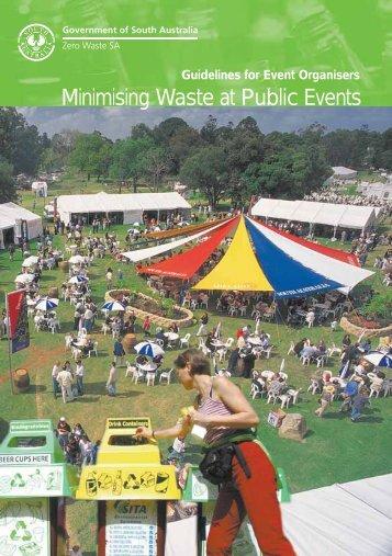 Minimising Waste at Public Events - Zero Waste SA - SA.Gov.au