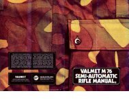 Valmet M76 Rifle Manual