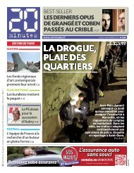 LES DERNIERS OPUS DE GRANGÉ ET COBEN - 20minutes.fr