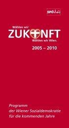 Programm der Wiener Sozialdemokratie für die ... - s3plus.info