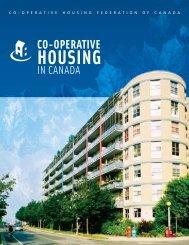 Co‑operative Housing in Canada