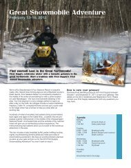 Great Snowmobile Adventure - First Supply