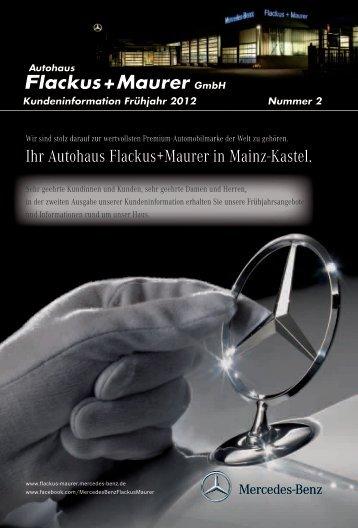 Ihr Autohaus Flackus+Maurer in Mainz-Kastel.