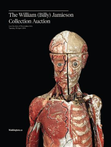 William (Billy) Jamieson Collection Live Auction of Decorative Arts