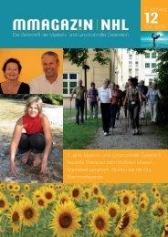 MMagazin 12, 2009/2 - Myelom Hilfe Österreich