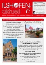 Ausgabe 6/2012 - Gewerbeverein Ilshofen eV / Startseite