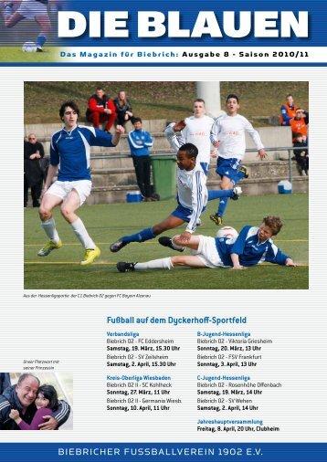 Kreis- Oberliga 2010/2011 - FV Biebrich 02