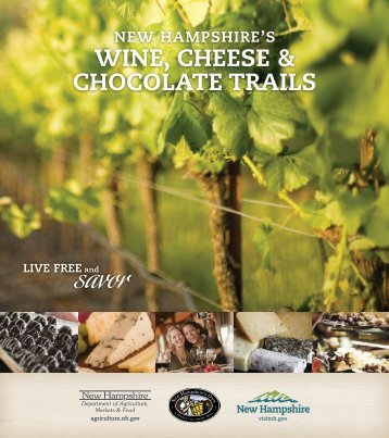 wInE, chEEsE & chocoLatE tRaILs - New Hampshire Department of ...