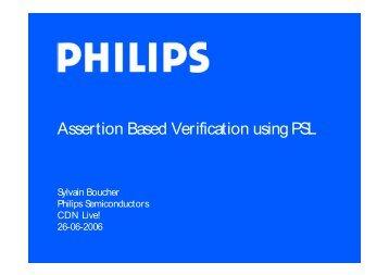 Assertion Based Verification using PSL
