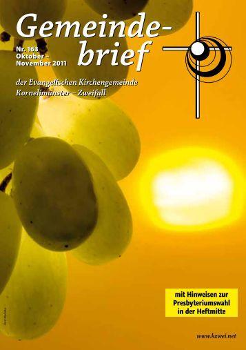 Gemeinde- brief Gemeinde- brief - kzwei.net