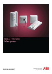 Signal Products Office systems - Installation Products