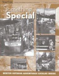 winter outdoor adventures catalog inside - Yosemite Online