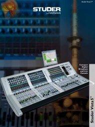 Studer Vista 5 Brochure