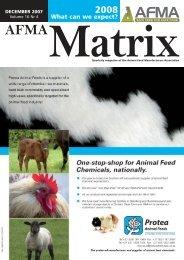 J01009 - AFMA Matrix - December 2007 LAYOUT.qxd