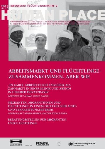 arbeitsmarkt und flüchtlinge - Flüchtlingsrat Mecklenburg ...
