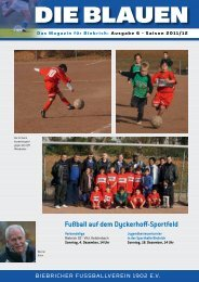 Dezember 2011 - FV Biebrich 02