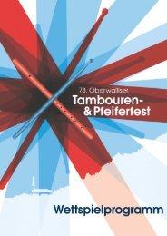Wettspielprogramm Ergisch 2014 - Oberwalliser Tambouren- und ...