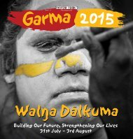 29 June Garma 2015 Program Booklet WEB