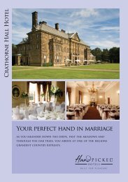 Your perfect hand in marriage - Hand Picked Hotels