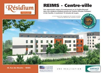 51 Reims - Residium - Azur InterPromotion