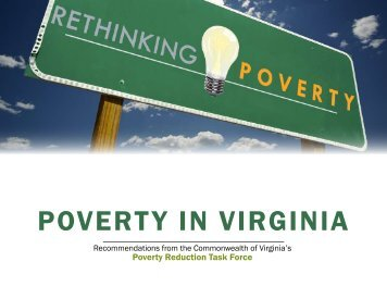 2010 Poverty Summit Report - Virginia Department of Social Services