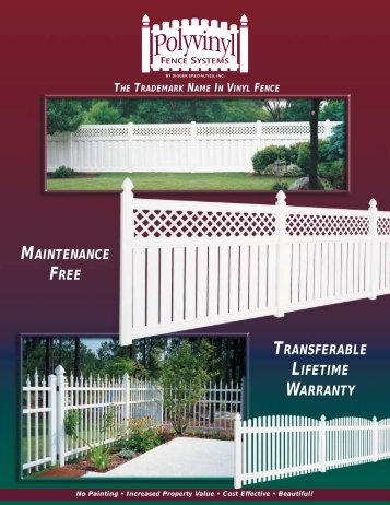 Digger PVC (pdf) - Allegheny Fence