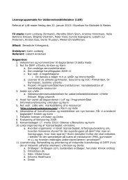 Referat af møde nr 11 - DEFF
