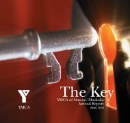 2008/2009 YMCA of Simcoe/Muskoka Annual Report
