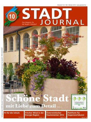 Oktober - Ausgabe - Stadtgemeinde Gleisdorf