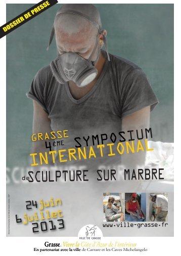Sélection des 7 sculpteurs sélectionnés par le jury - Grasse