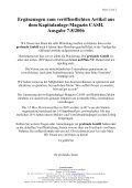 Artikel aus dem Kapitalanlage-Magazin CASH ... - Profundo GmbH - Page 2