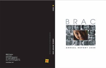 BRAC Annual Report 2008 [PDF - 6.64MB]
