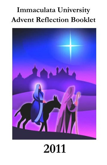 Immaculata University Advent Reflection Booklet
