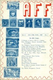 In this issue- - International Philippine Philatelic Society