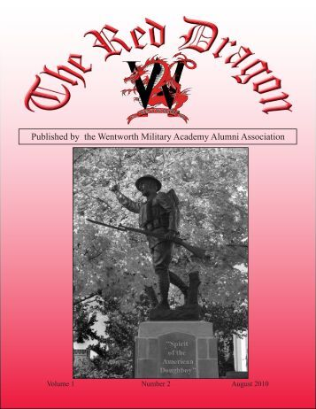 Red Dragon Vol 1 Issue 2 - Wentworth Military Academy & College