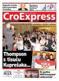 Thompson s tisuću Kuprešaka... - CroExpress