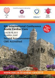 8th International Conference Acute Cardiac Care - ISAS ...