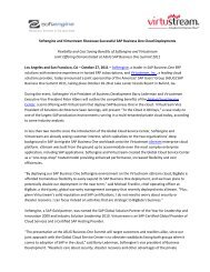 [Partner Name] [Recipient title, e - Softengine Inc.