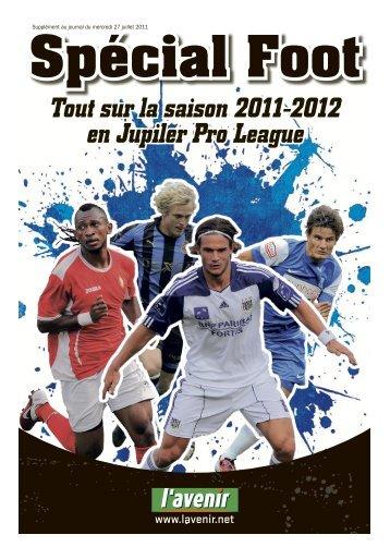 Tout sur la saison 2011-2012 en Jupiler Pro League - L'Avenir