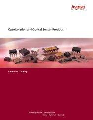 Optoisolation and Optical Sensor Products