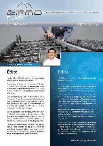 Télécharger le communiqué en PDF - Groupe ERMO