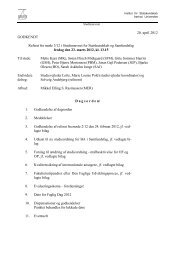 20. april 2012 GODKENDT Referat fra møde 3 - For Studerende ...