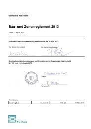 Bau- und Zonenreglement 2013 - Kanton Luzern
