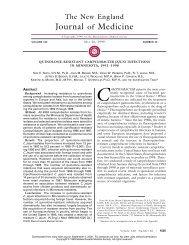 052099 Quinolone-Resistant Campylobacter Jejuni Infections